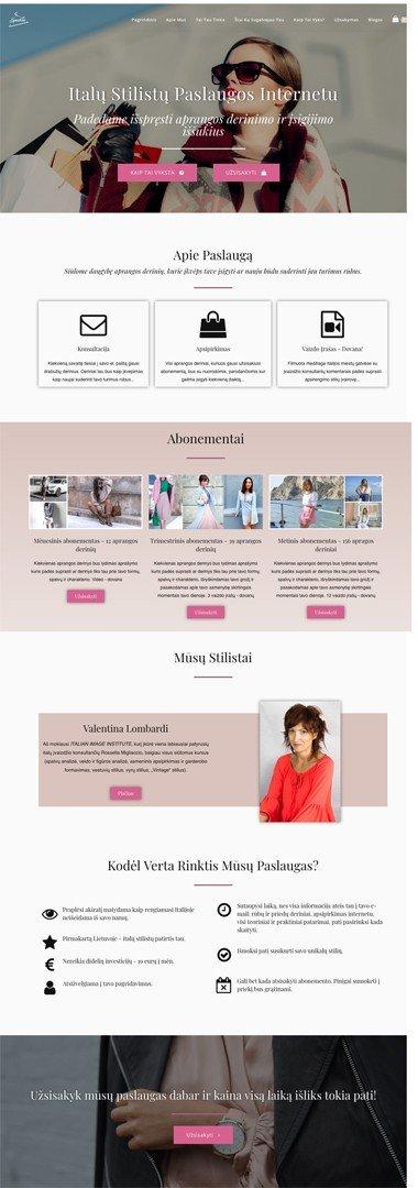 internetiniu-parduotuviu-kurimas-stilistu-paslaugu-internetine-svetaine