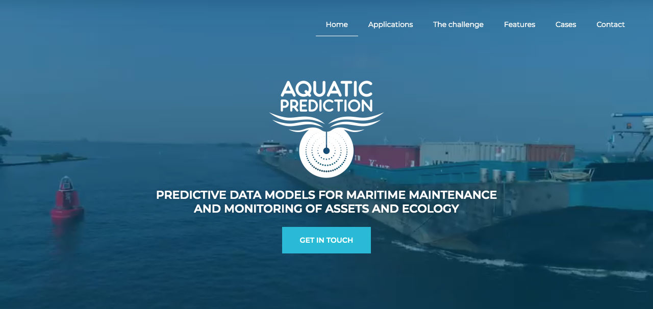 Aquaticprediction-landing-puslapis